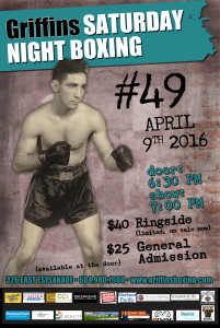 Saturday Night Boxing #49