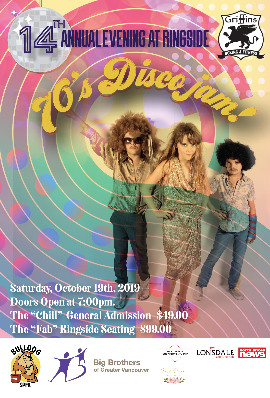 Evening at Ringside #14: 70's Disco Jam!